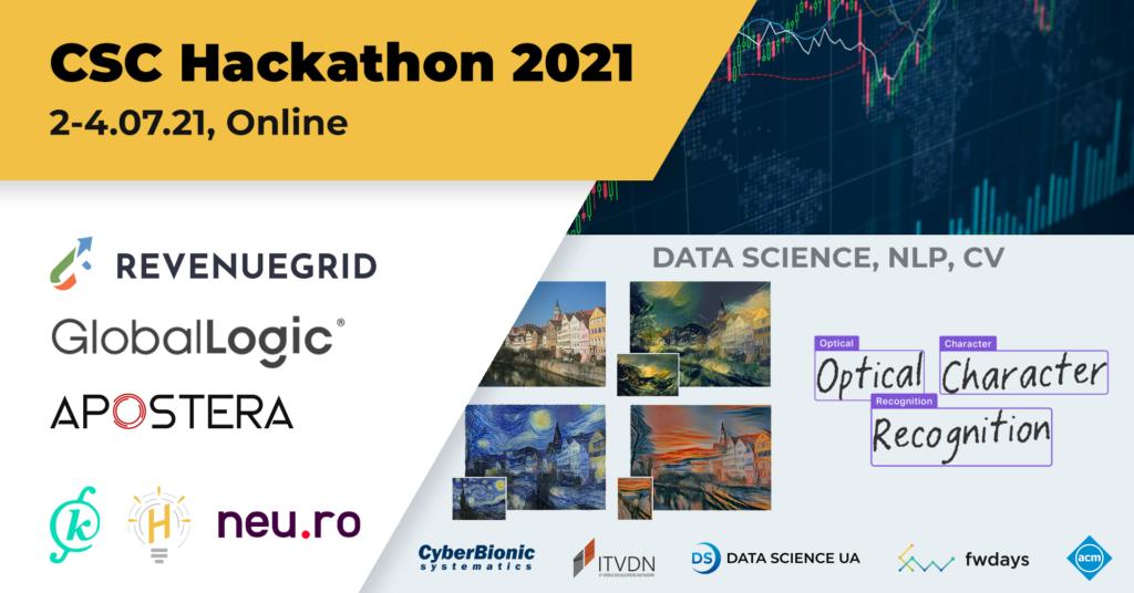 CSC Hackarhon 2021 online